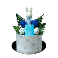 Classically Cute Nappy Cake