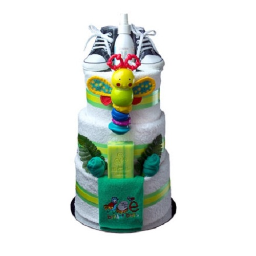 Super Bright Nappy Cake
